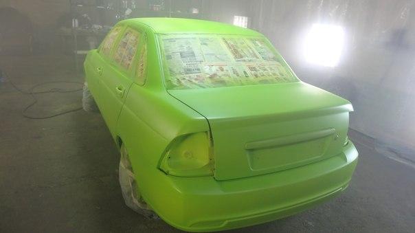 Покраска автомобилей жидкойрезиной PLASTI DIP в СПбra