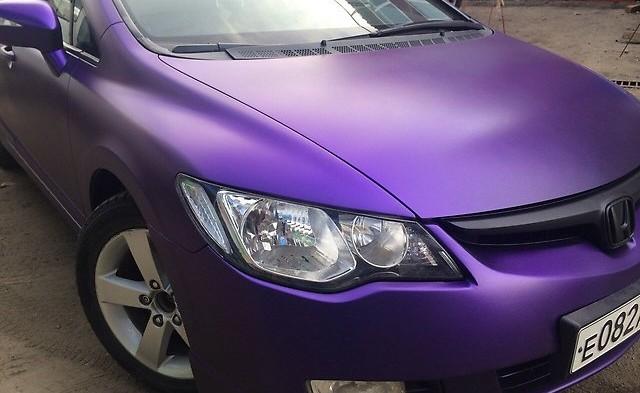 Жидкая резина и покраска Audi в СПб