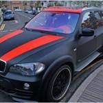 Покраска жидкой резиной BMW x5