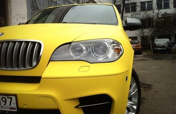 Покраска жидкой резиной BMW x5 e70